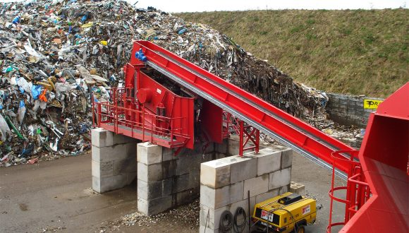 construction demolition vibrating screen