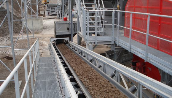 electric arc furnace slag conveyor
