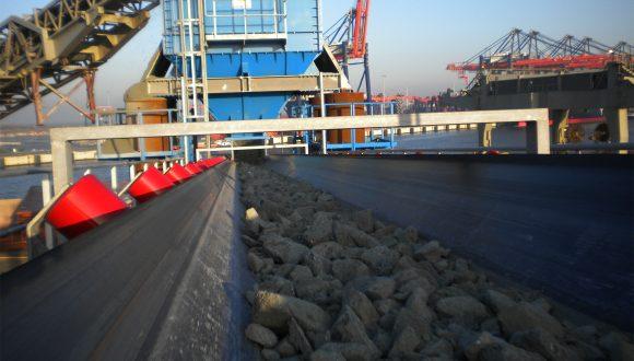 granite unloading system