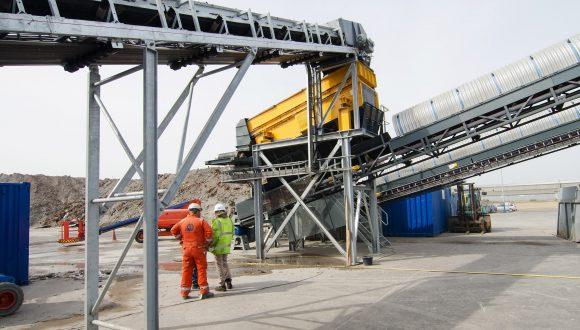 incinerator bottom ash aggregate facility