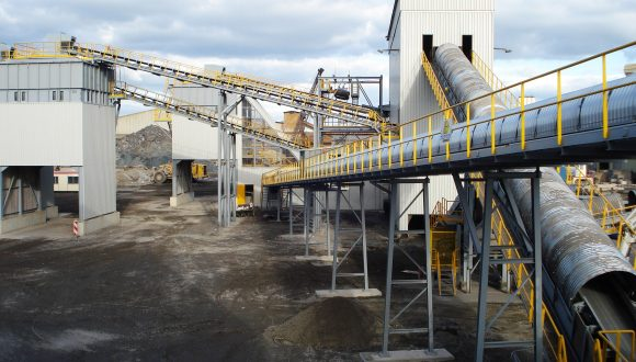 iron and steel slag separation system