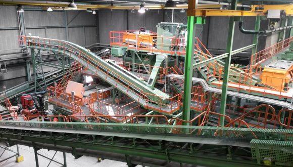 slag reprocessing plant