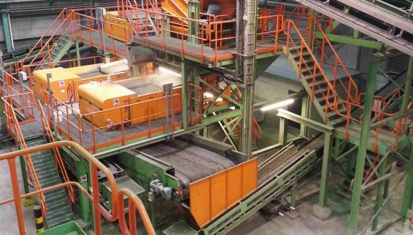slag reprocessing screening machines