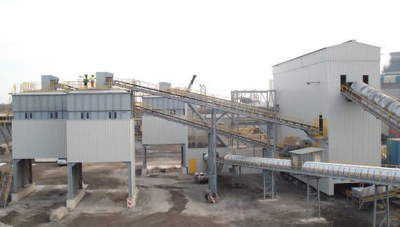 steelmaking blast furnace slag recovery facility