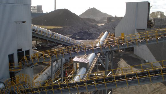 steelmaking slag recycling installation