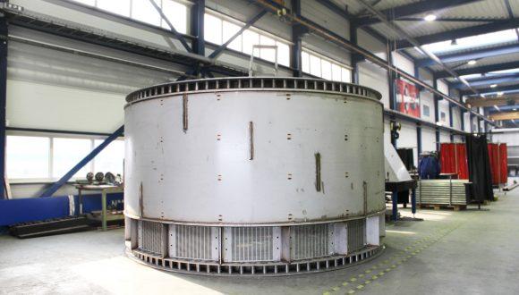 coal washing drum production