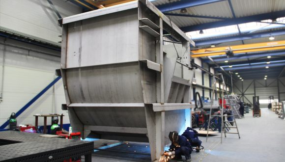 drum for coal washing installation