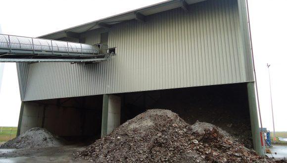 Belt conveyors bottom ash