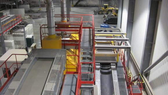 IBA recycling plant