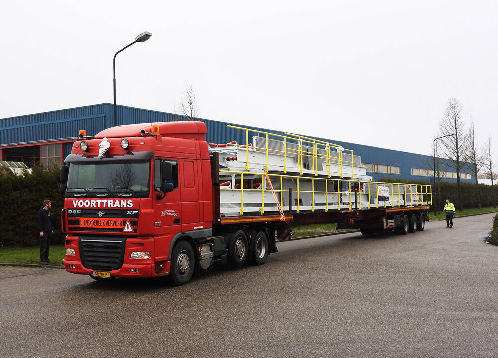 Another oversized cargo from N.M. Heilig B.V.