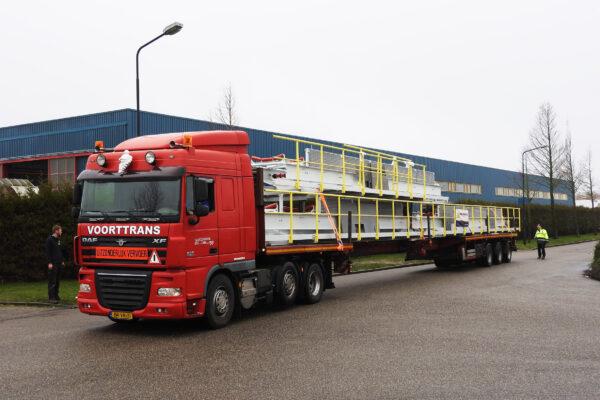 belt conveyor construction transport