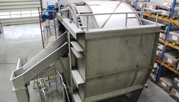 coal washing drum with capacity 150 ton per hour
