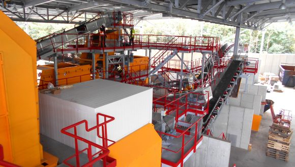 on-site installation recycling plant