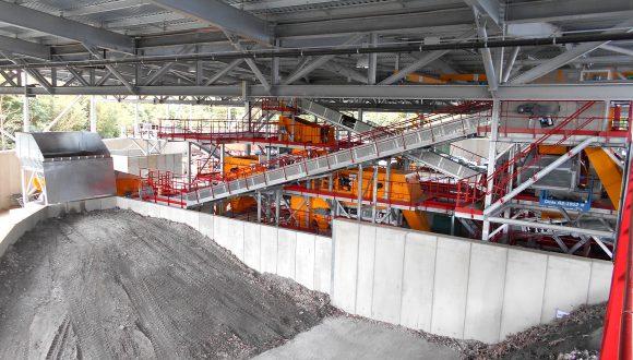 slag processing plant NM Heilig