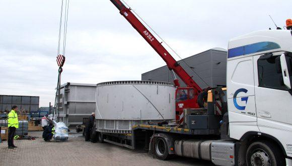 washing system for bulk handling industry