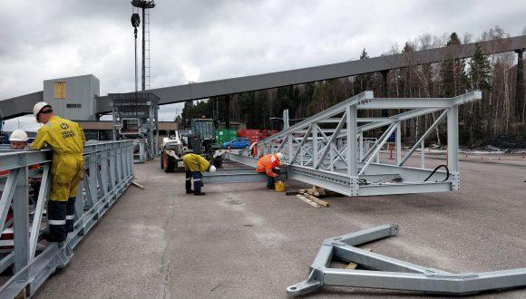 Mobile stacker conveyors N.M. Heilig