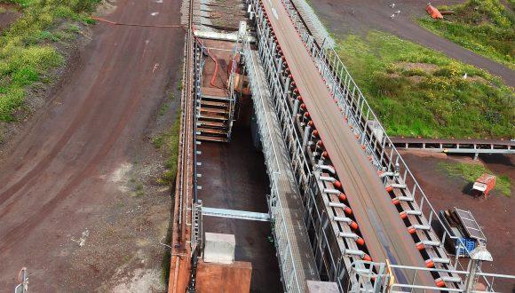 bulk terminal conveyor