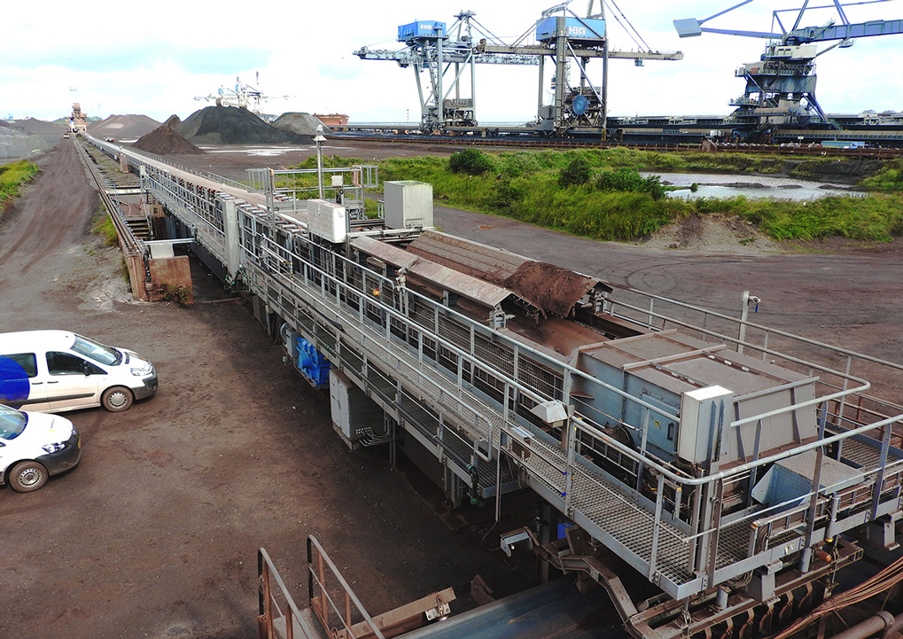 Conveyors for Iron Ore Bulk Terminal
