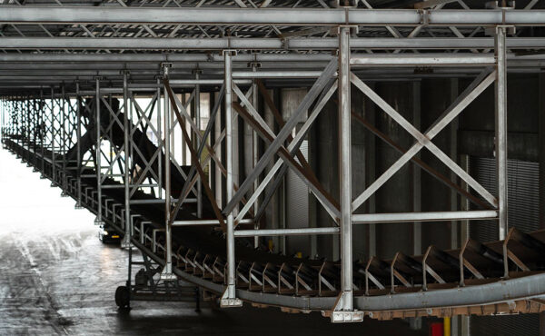 Belt conveyor Katoen Natie