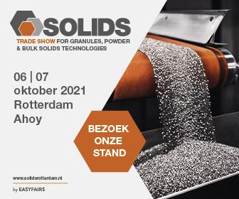 Meet us at Solids Rotterdam Ahoy